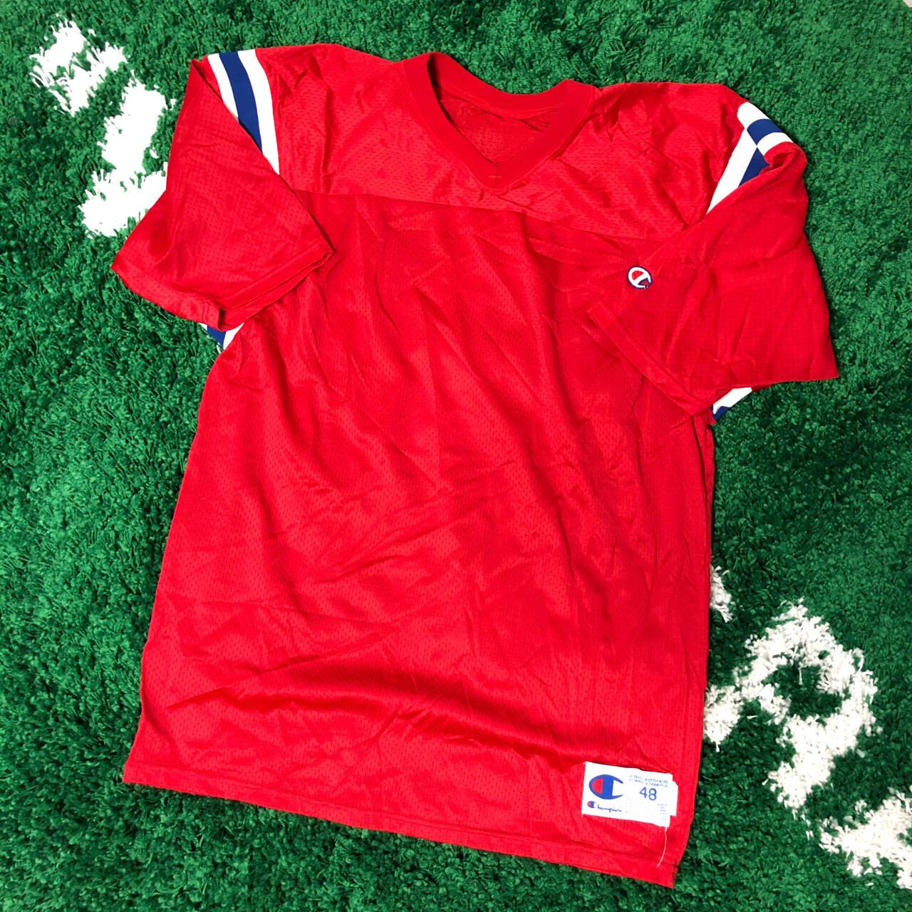 New England Patriots Champion Jersey Blank 90's Size XL
