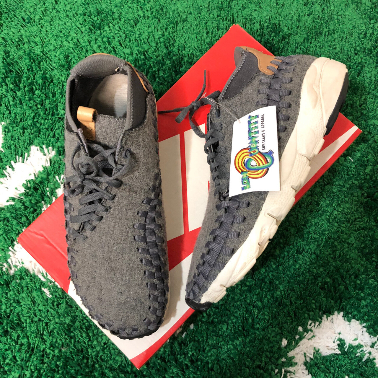 Nike Air Footscape Woven Chukka Dark Grey Size 11.5