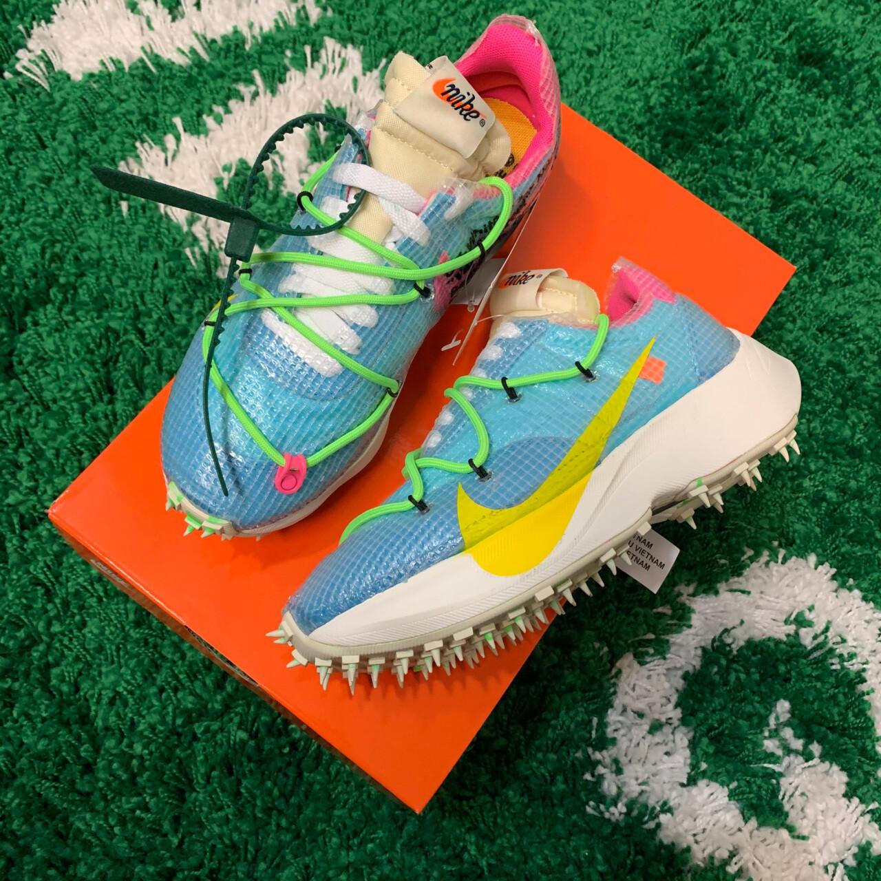 Nike Off White Vapor Street Blue 5.5(W)/4(M)