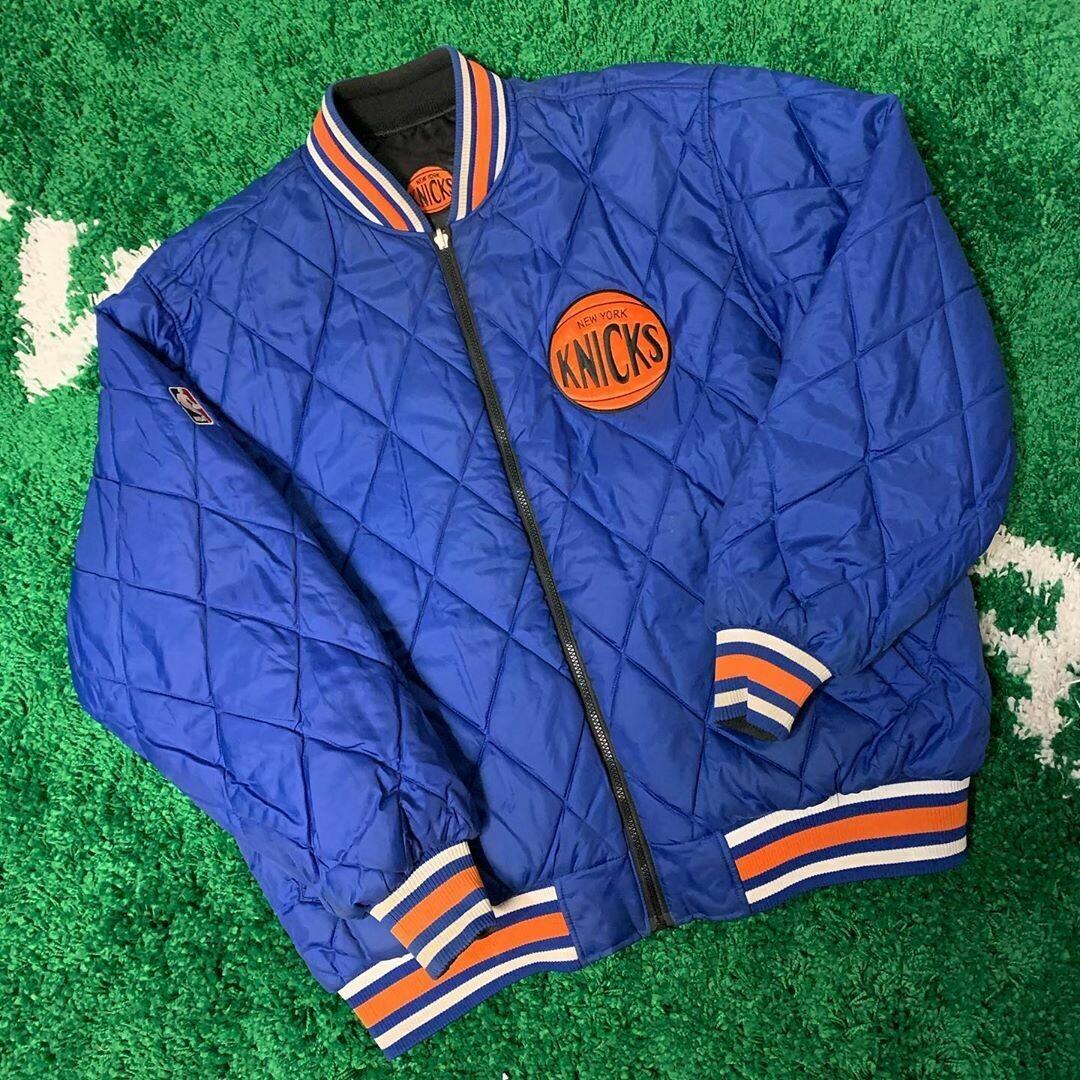 Reversible Knicks Jacket Size XL