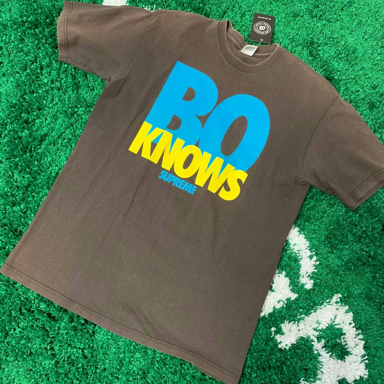 Supreme Bo Knows T-shirt Size Large