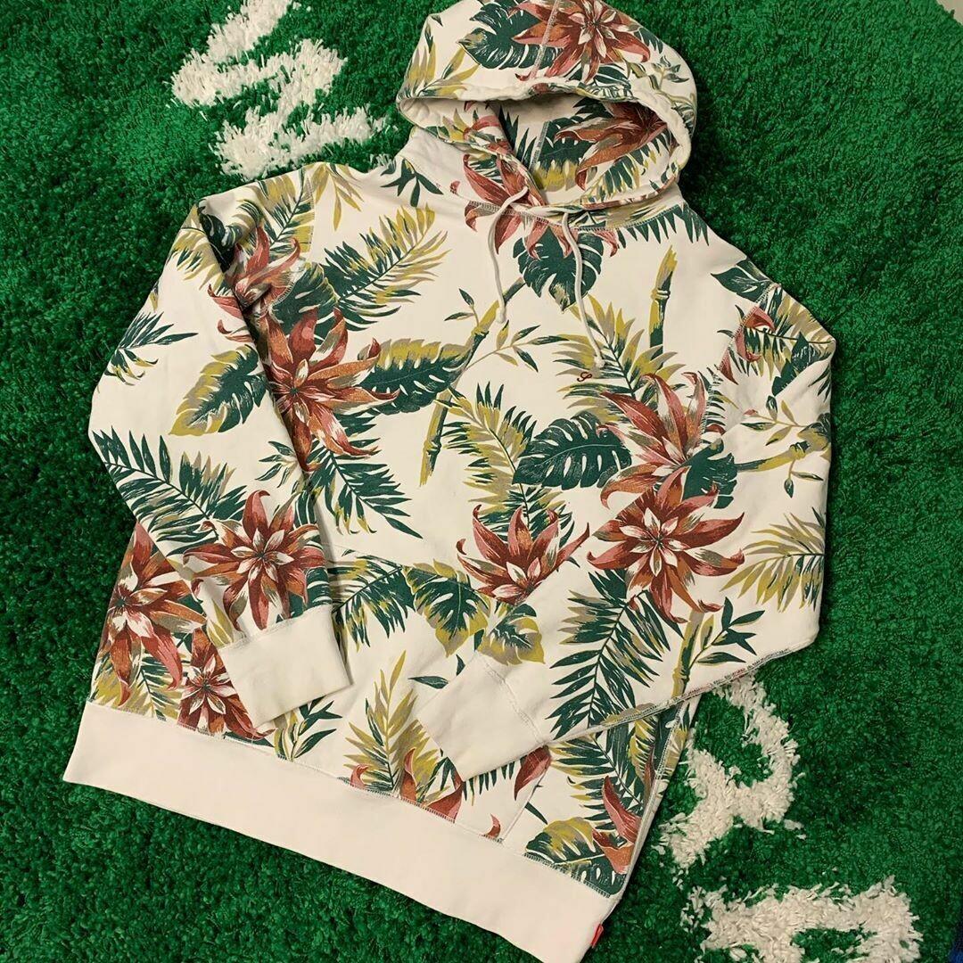 Supreme Floral Hoodie 2012 Size XL