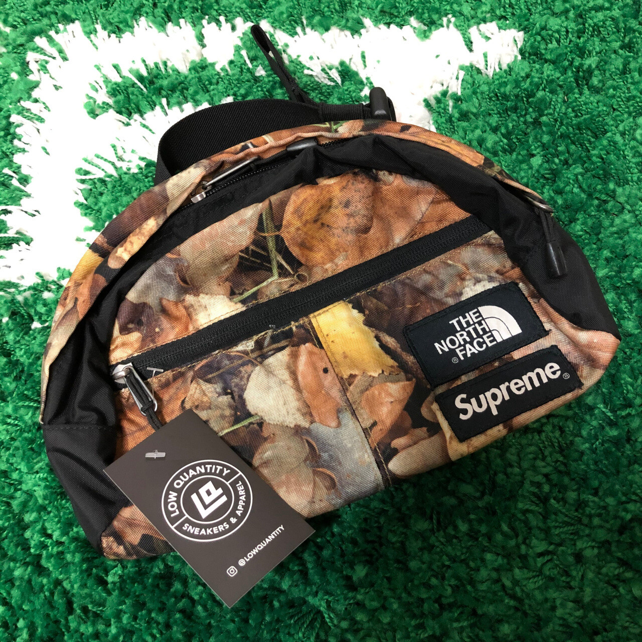 Supreme x The North Face Lumbar Pack Woodland