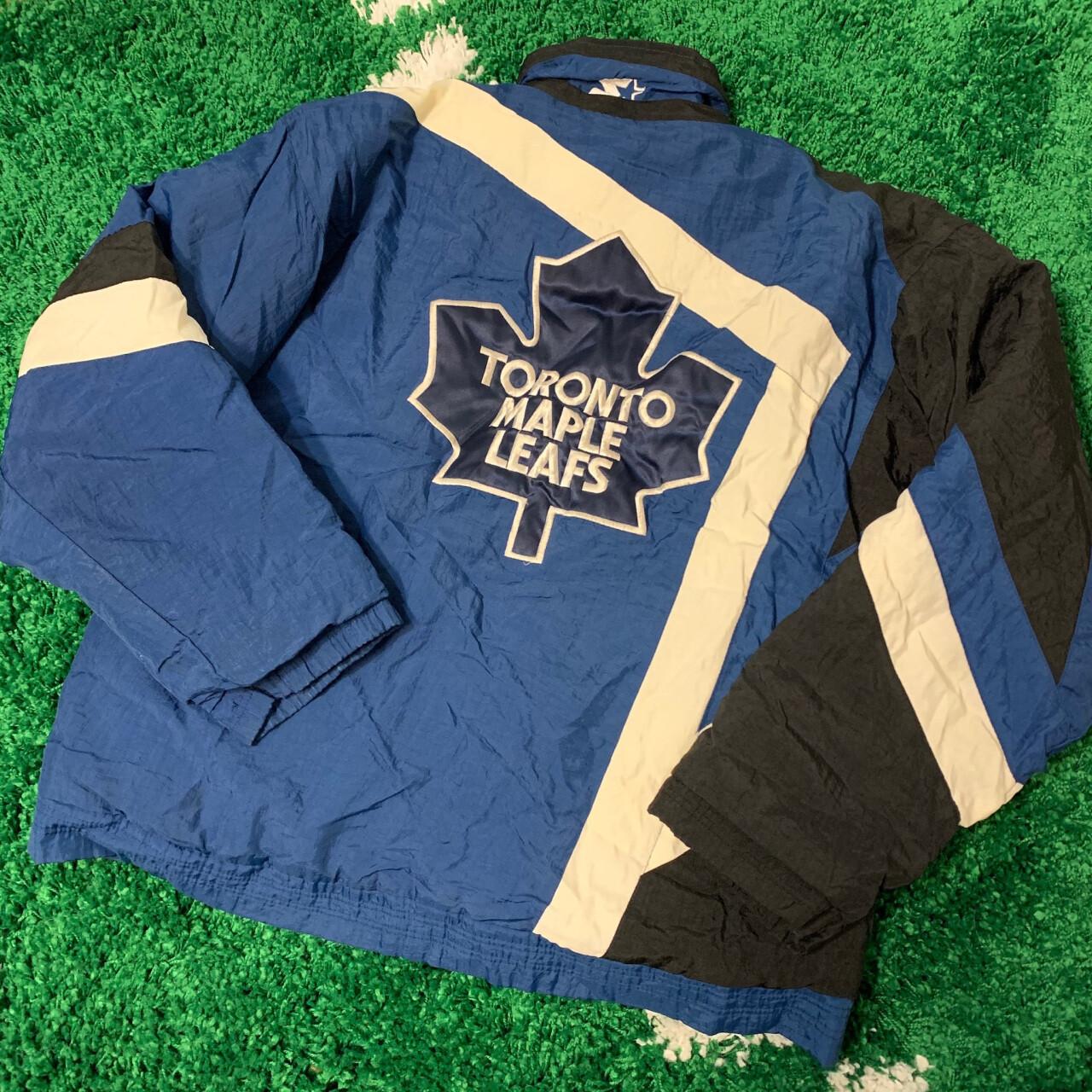 Toronto Maple Leafs Starter Jacket 90's Size Medium