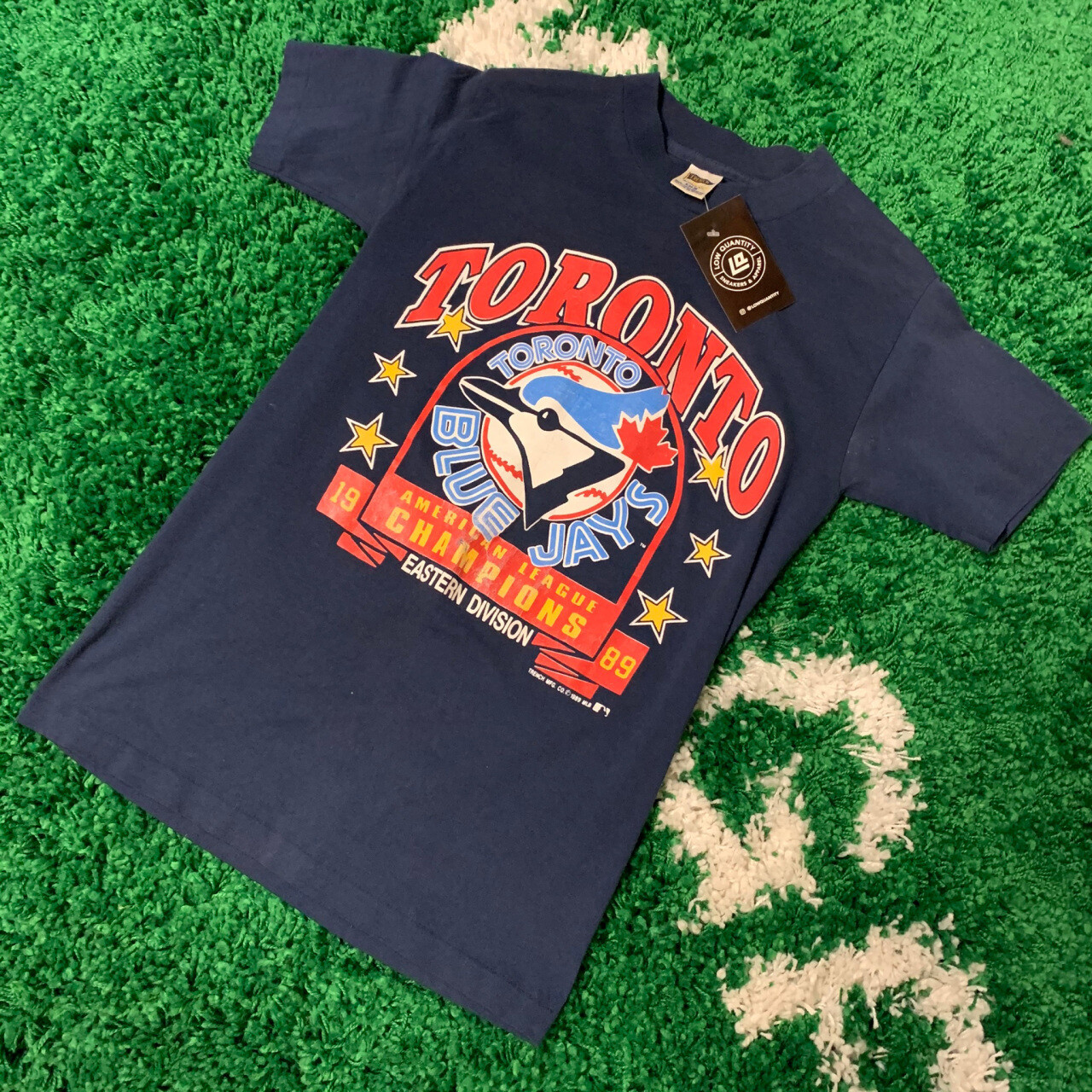 Toronto Blue Jays Easter Division Champions 80's Size Small
