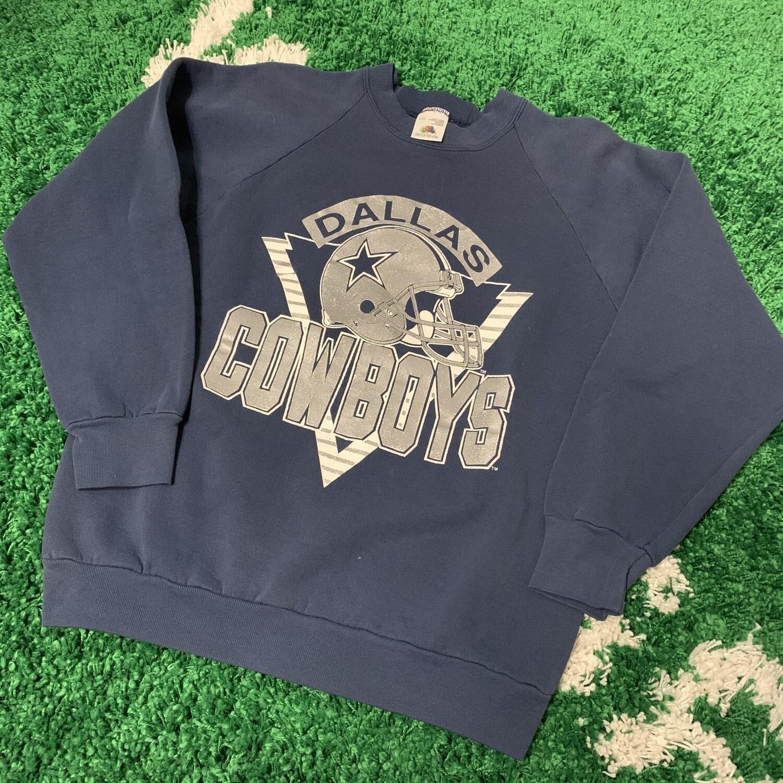 Dallas Cowboys Crewneck Sweater 90's Size Large