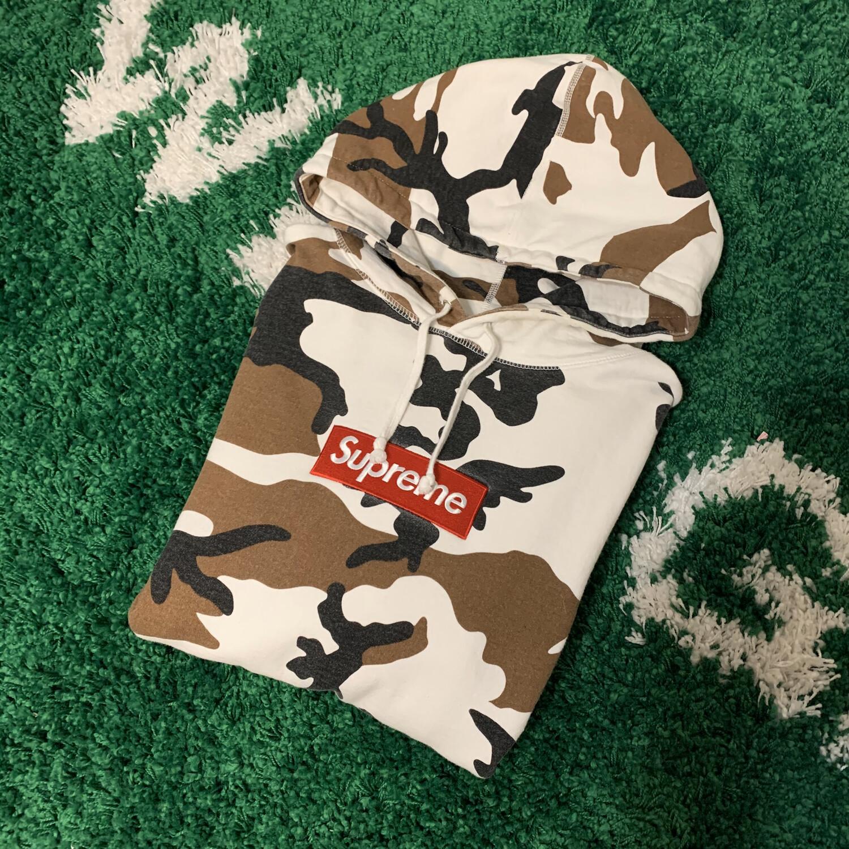 Supreme Cow Camo Box Logo Size Large