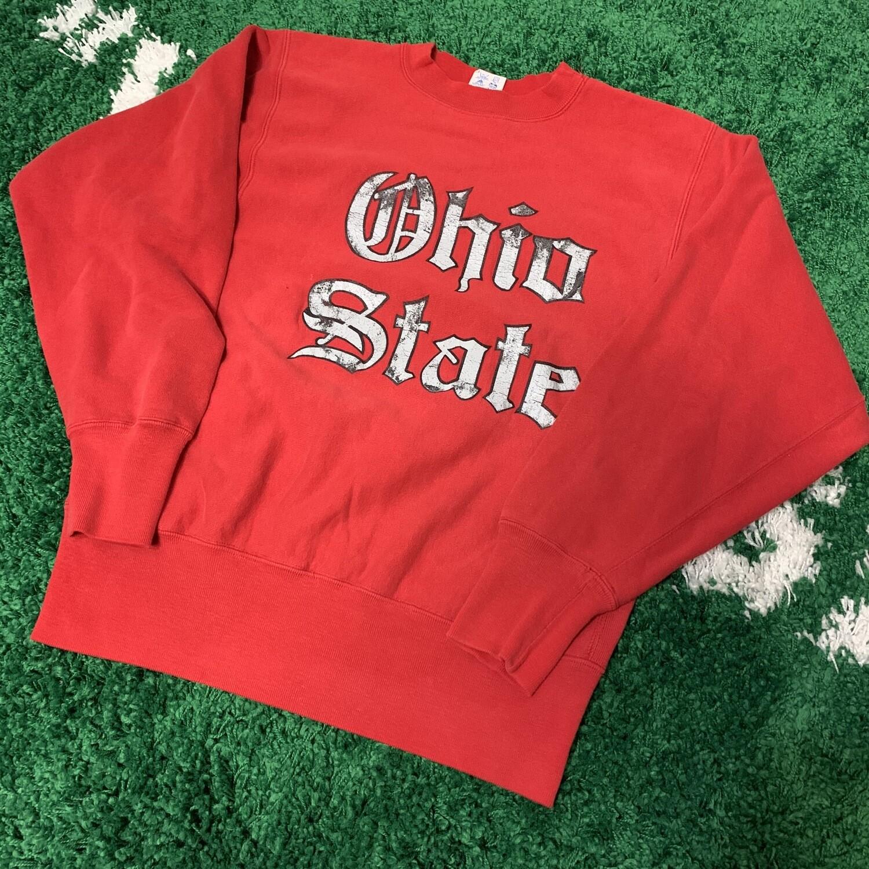 Ohio State Champion Reverse Weave Crewneck Size Medium