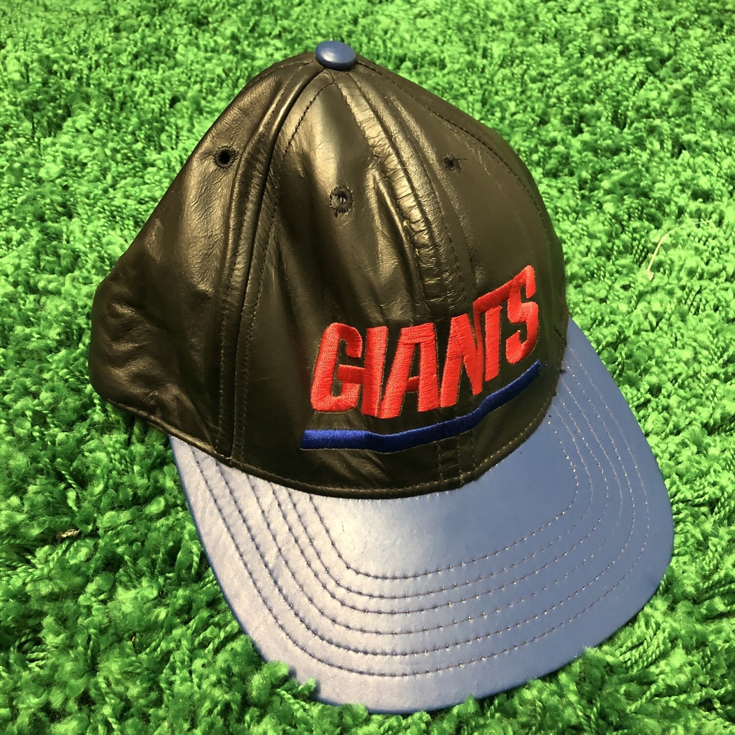 New York Giants Leather Hat