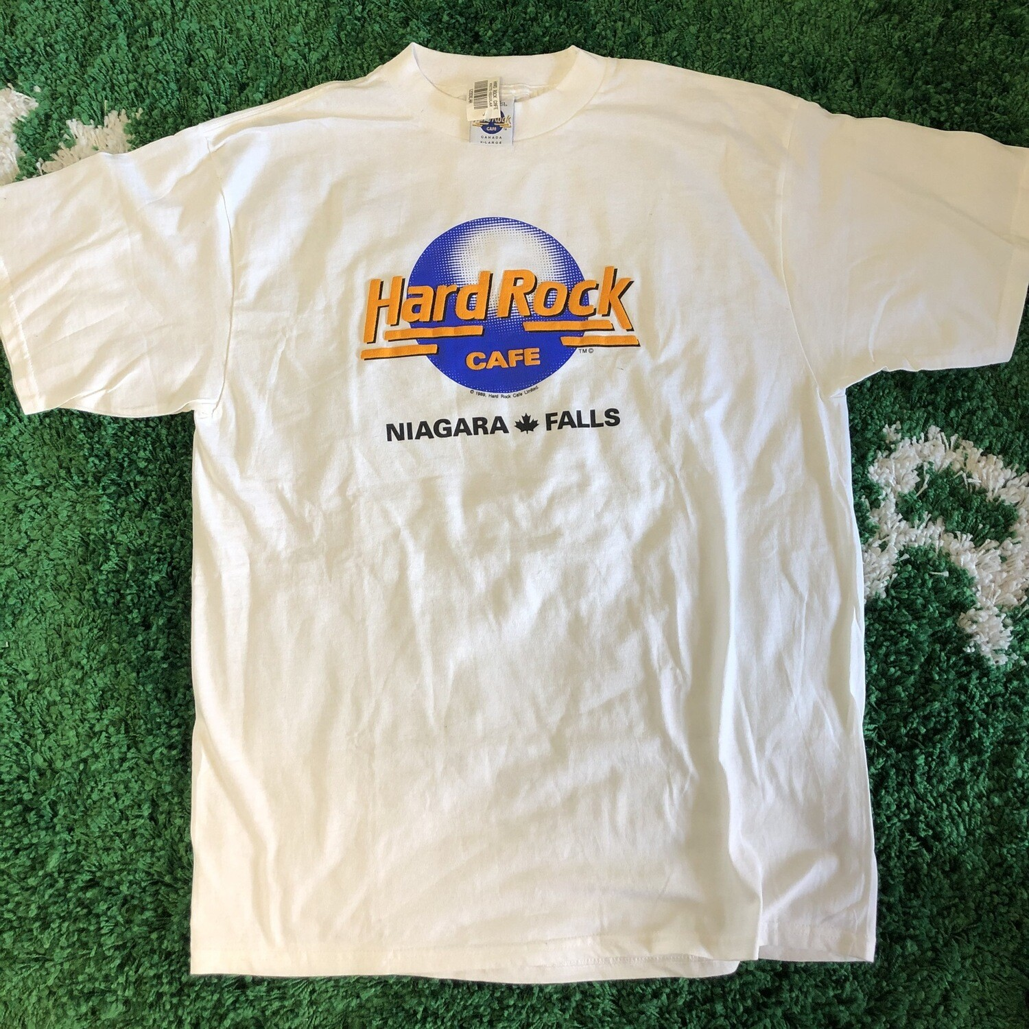 Hard Rock Cafe Niagara Falls 1989 T-Shirt Size XL