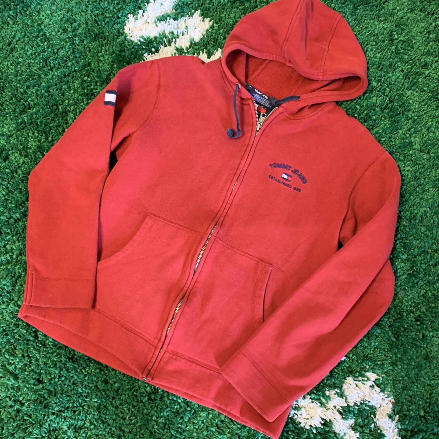 Tommy Jeans Zip up Hoodie Size Small