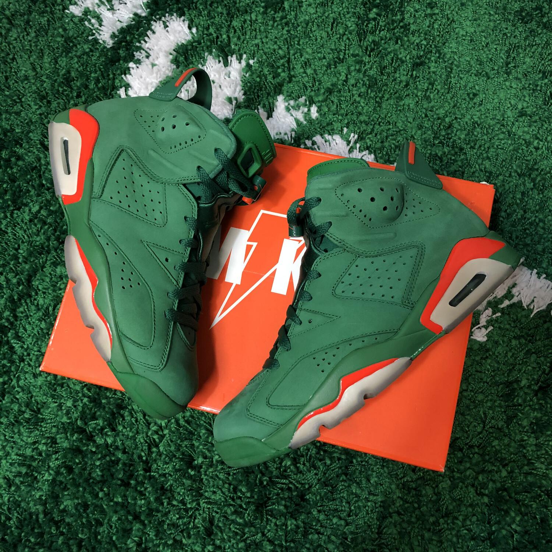 Air Jordan 6 Gatorade Green Size 8