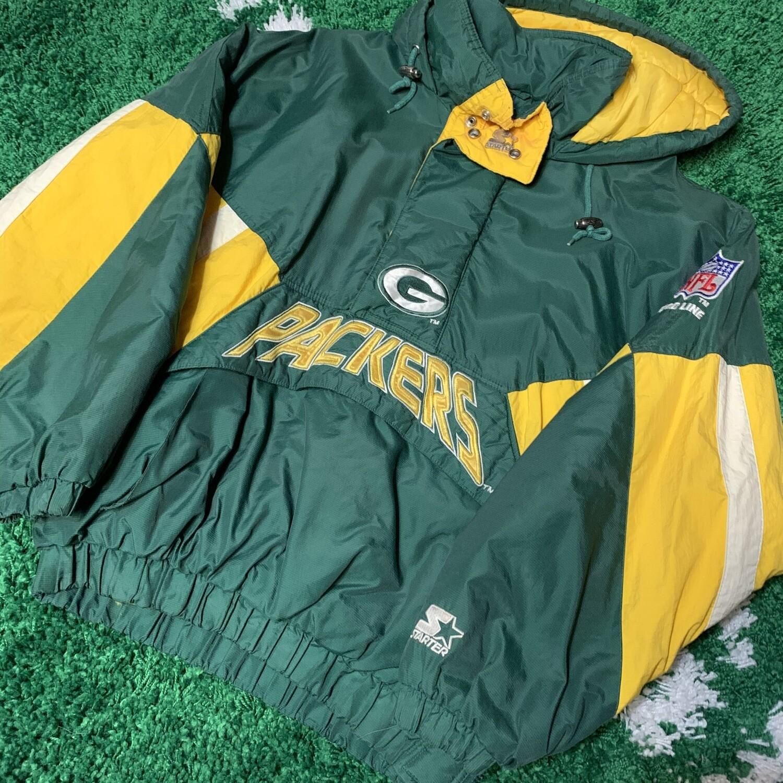 Green Bay Packers Starter Jacket Size Medium