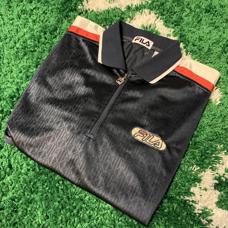 90s Fila Polo Shirt Size Large