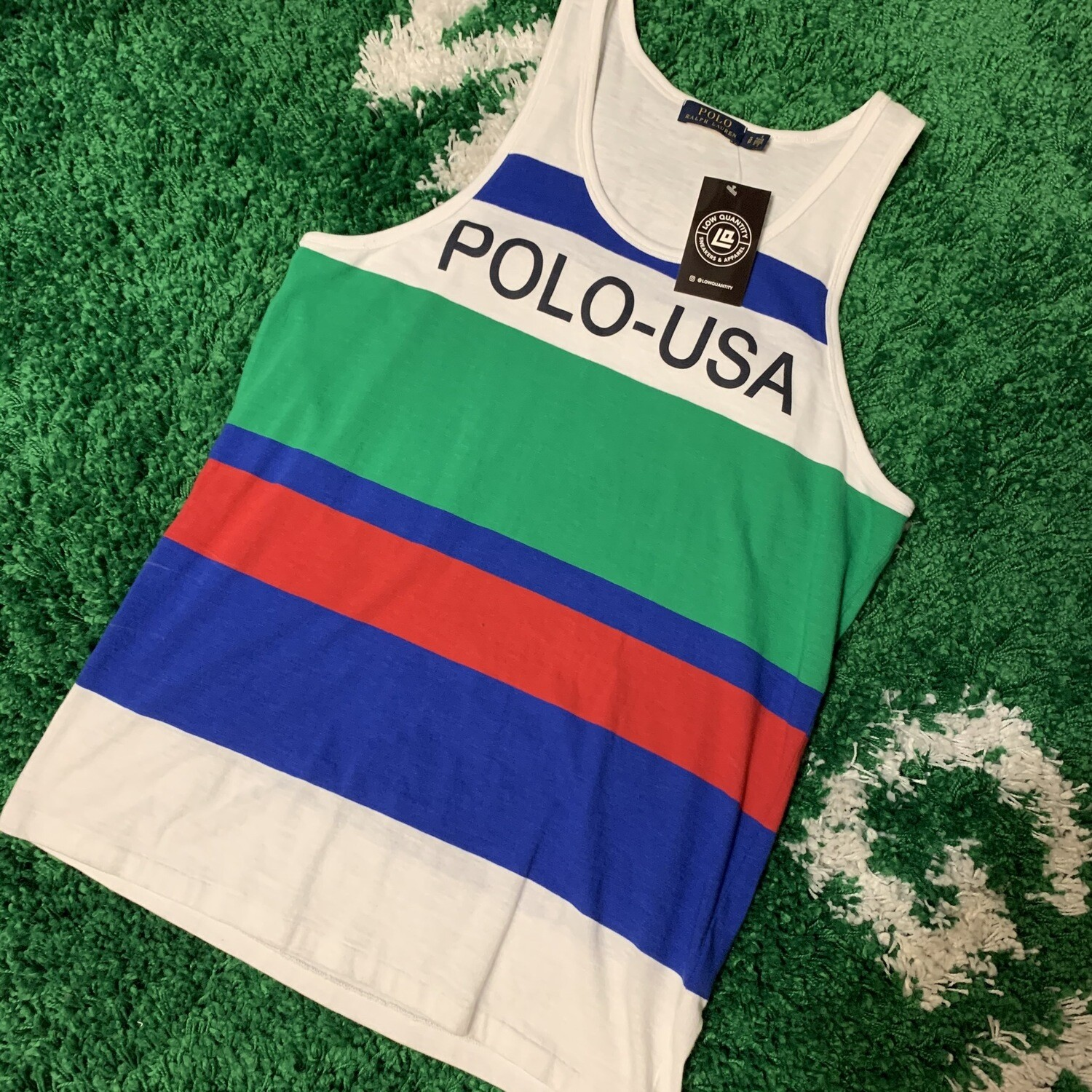 Polo Ralph Lauren USA Tank Size Small