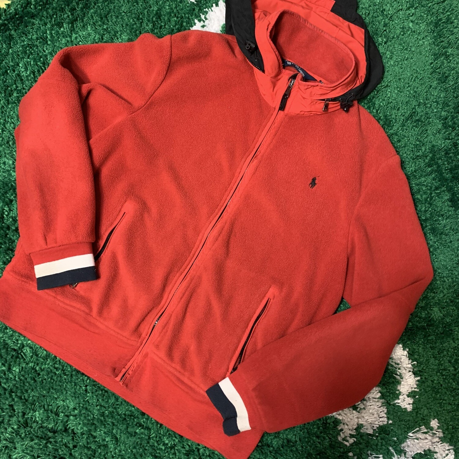 90s Polo Ralph Lauren Zip Up Fleece Size XL