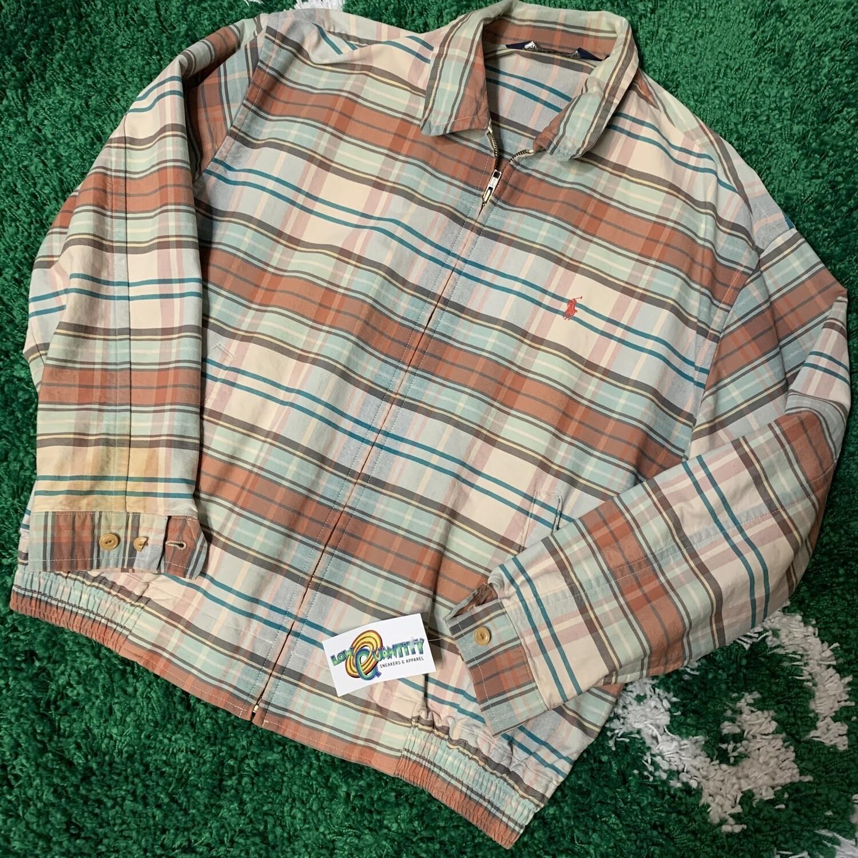 90s Polo Ralph Lauren Plaid Jacket Size Large