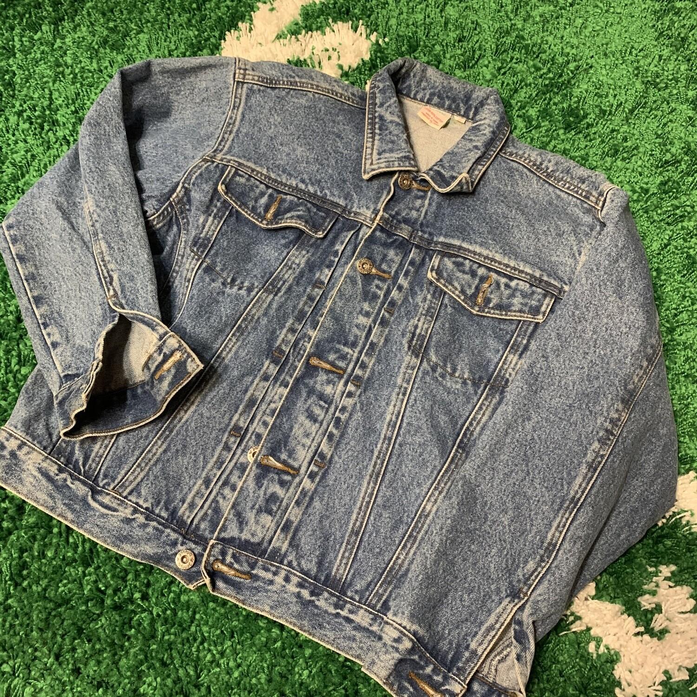 Vintage Denim Jacket Women's Size Medium