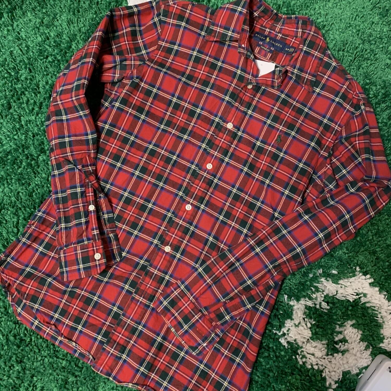 Polo Ralph Lauren Plaid Flannel Size Small