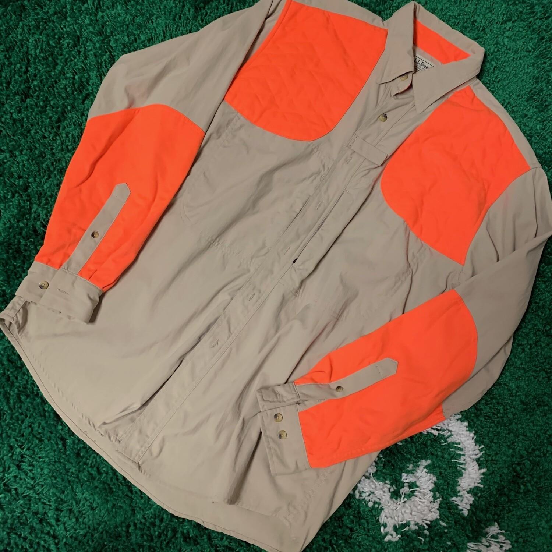 LL Bean Button Up Shirt Size Medium