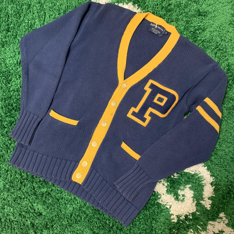 90s Polo Ralph Lauren Knit Cardigan Size Medium