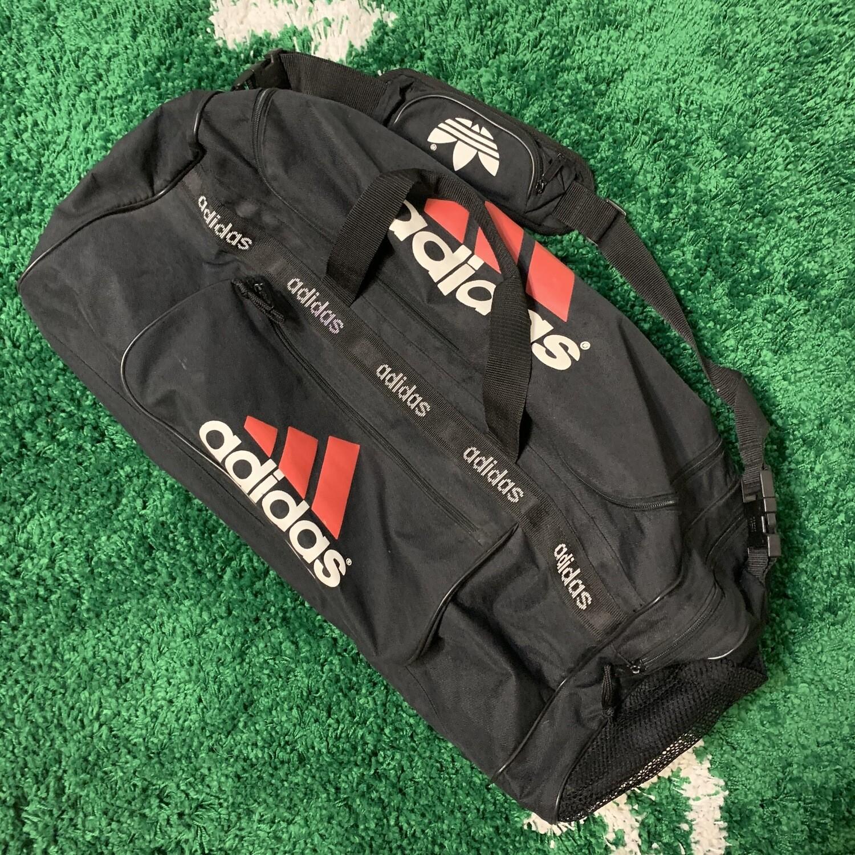 90s Adidas Black Duffle Bag