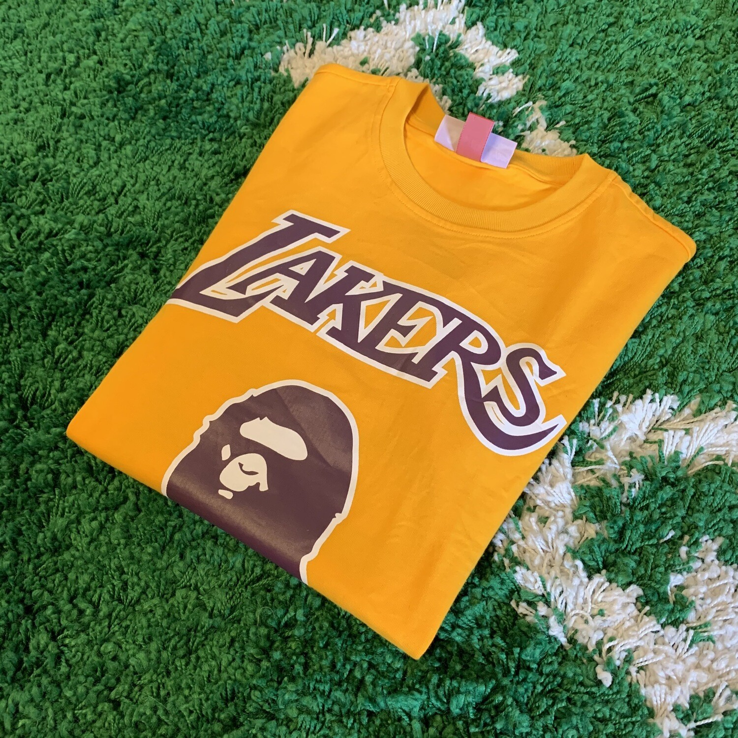 Bape NBA Lakers Shirt Size XS