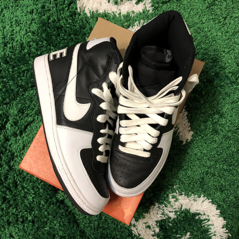 Nike Terminator Hi Black White Size 10