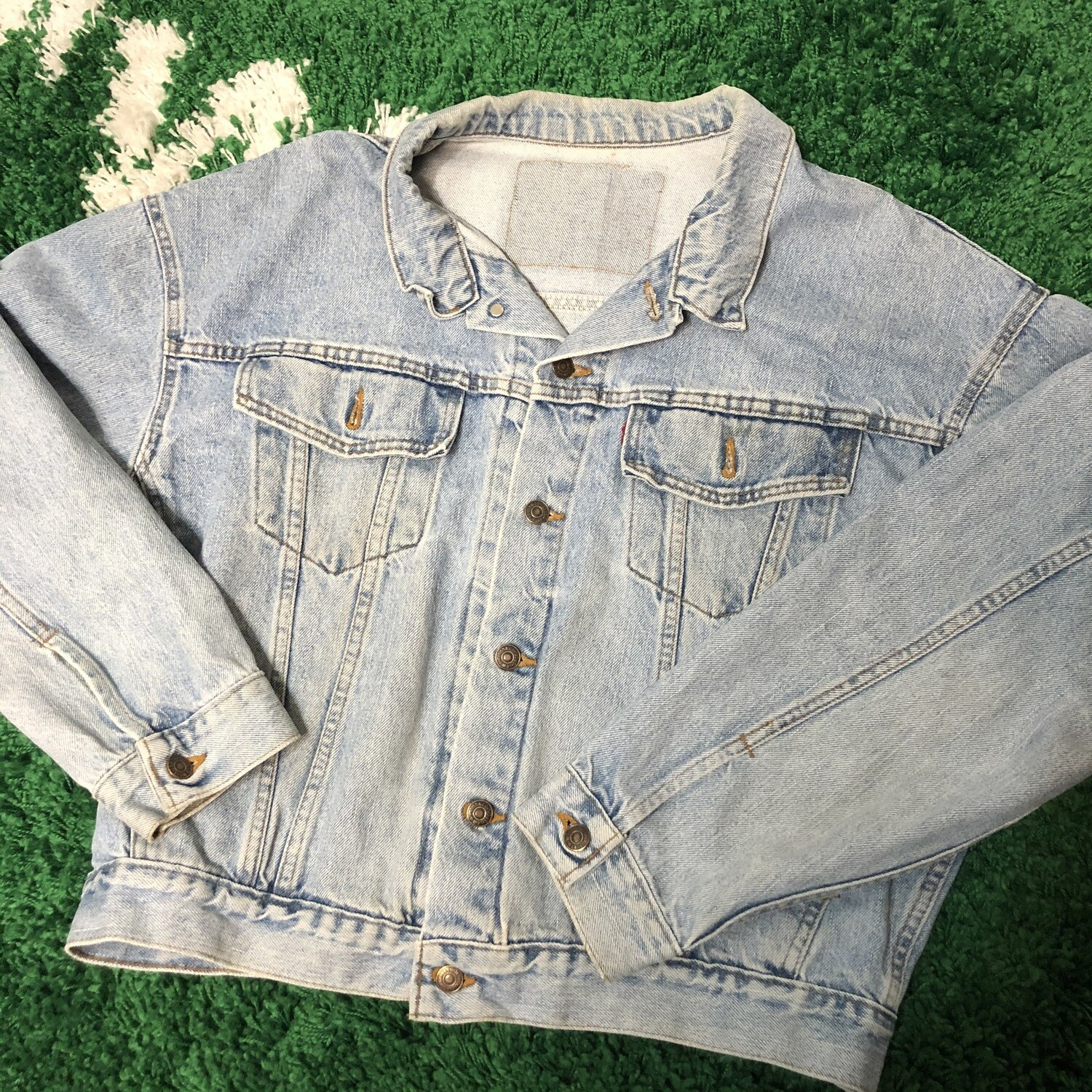Levis Denim Jacket Size Large
