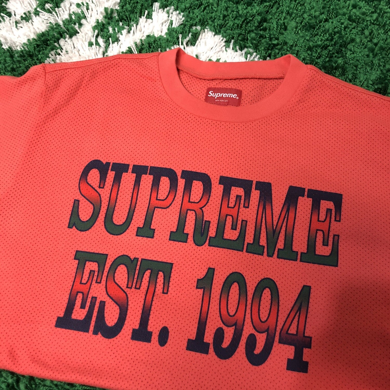Supreme Mesh Shirt Size Medium