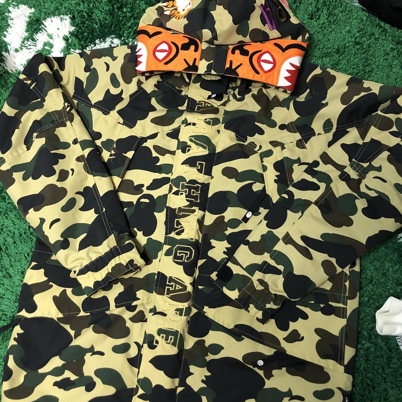 Bape Camo Jacket Size Large