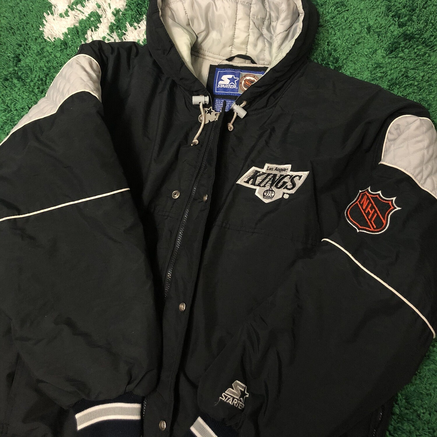 LA Kings Starter Jacket Size Large