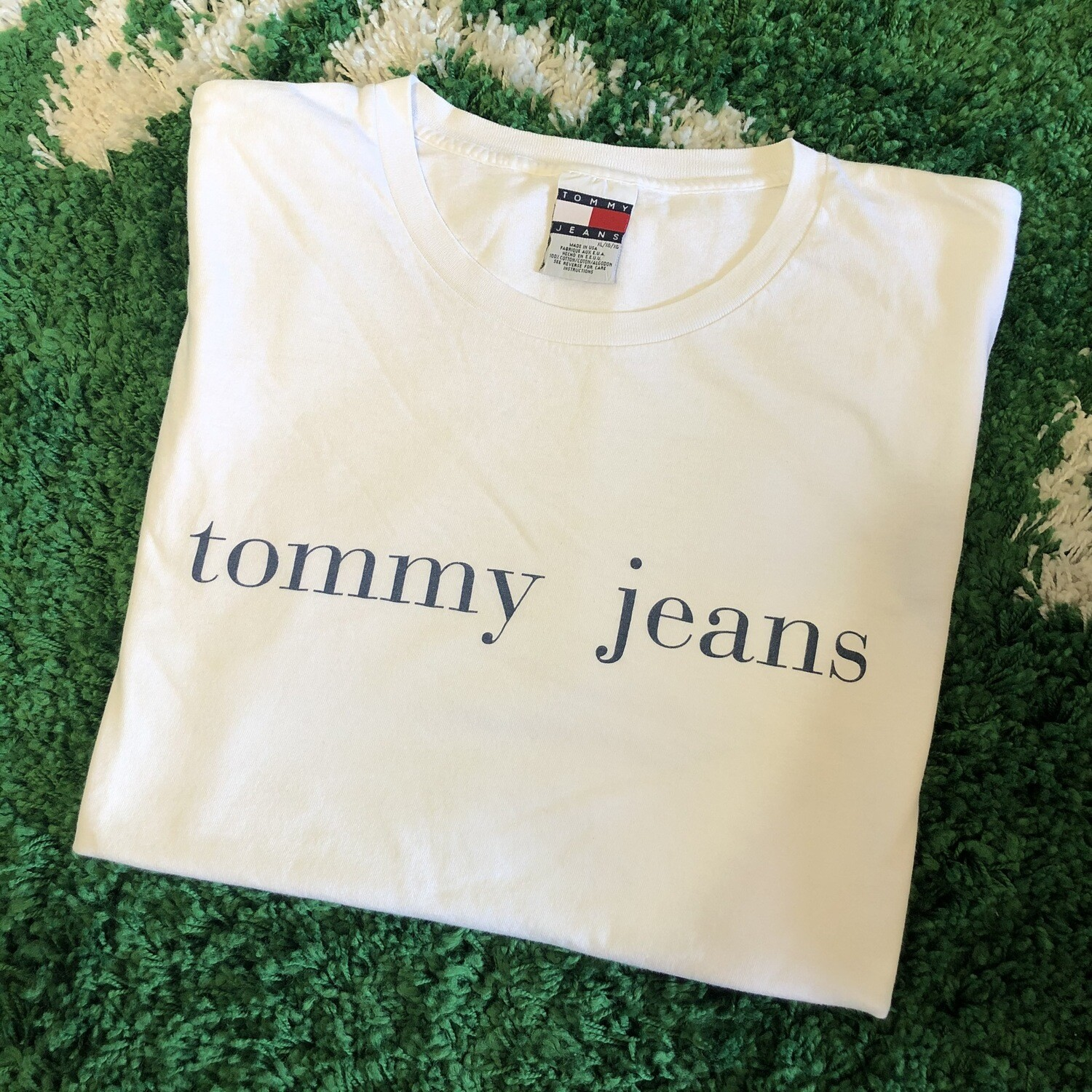 Tommy Jeans T-Shirt White Size XL