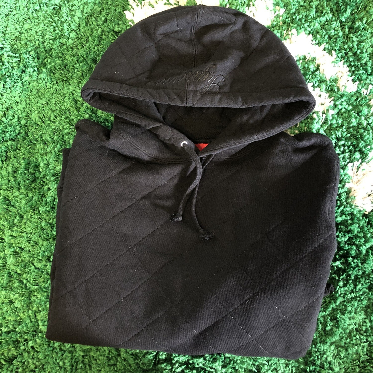 Supreme Quilted Sweater Size Medium