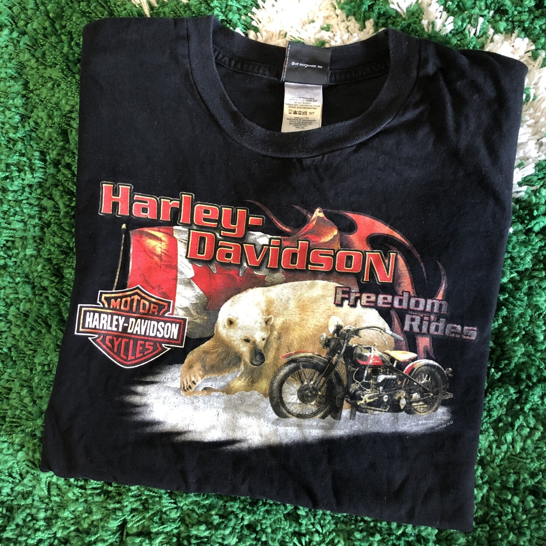 Harley-Davidson Freedom Rides T-Shirt Black Size XXL