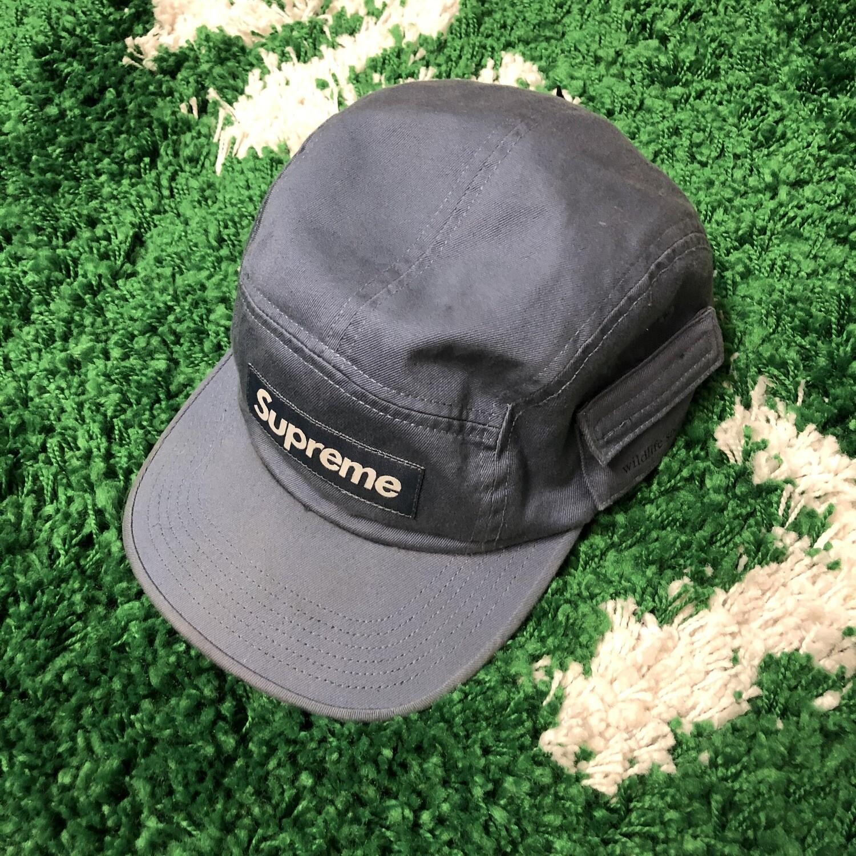 Supreme Camp Hat Grey/Blue