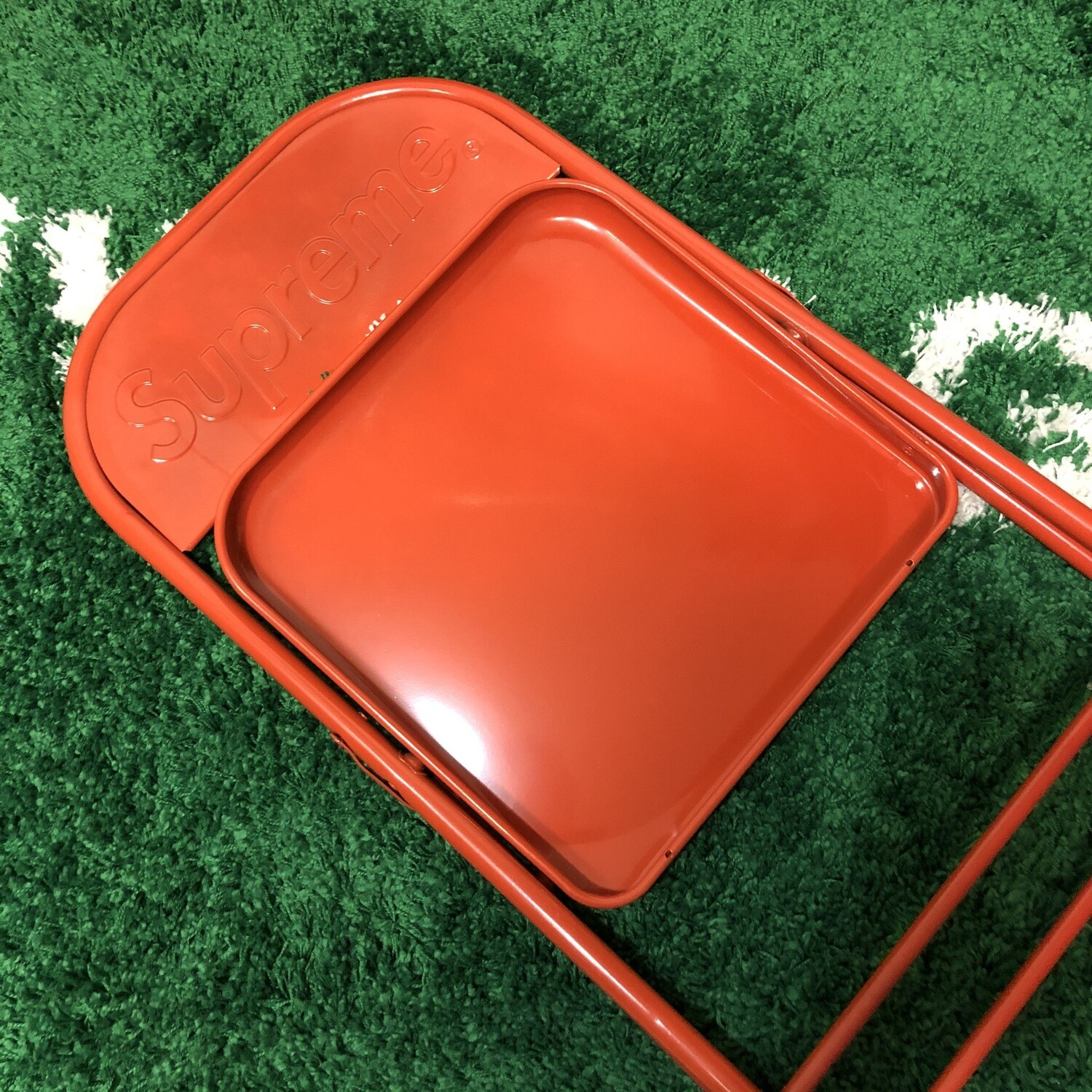 Supreme Steel Chair Red
