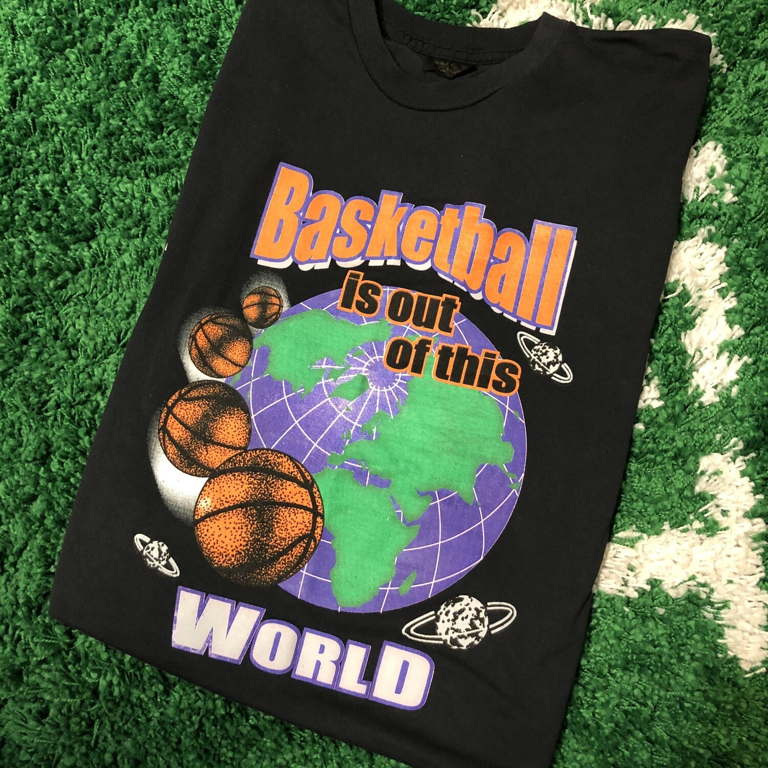 Basketball is out of this world T-Shirt Size XL