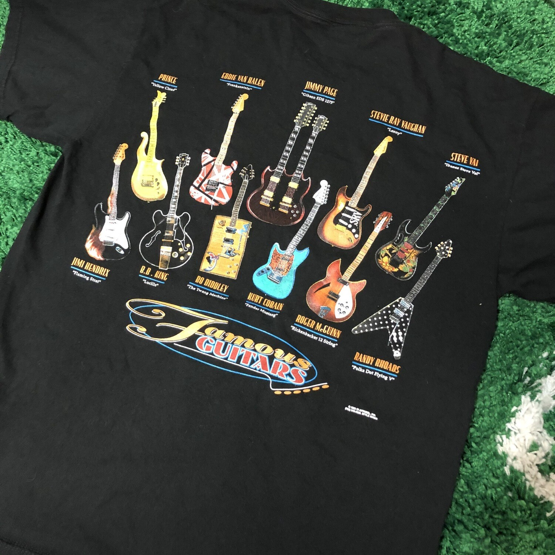 Famous Guitars Shirt Size Large
