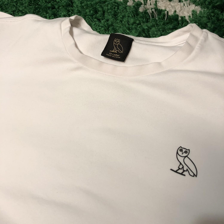 OVO Essentials Shirt White Size XXL