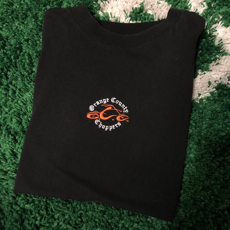 Orange County Choppers Stitched Shirt Size Medium