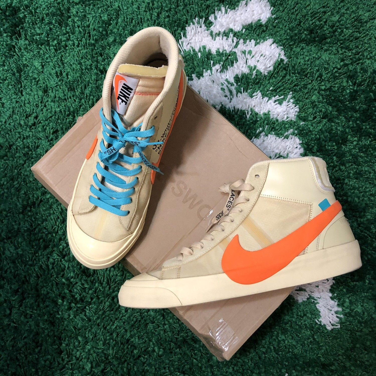 Nike Off-White Hallows Eve Blazer Size 11