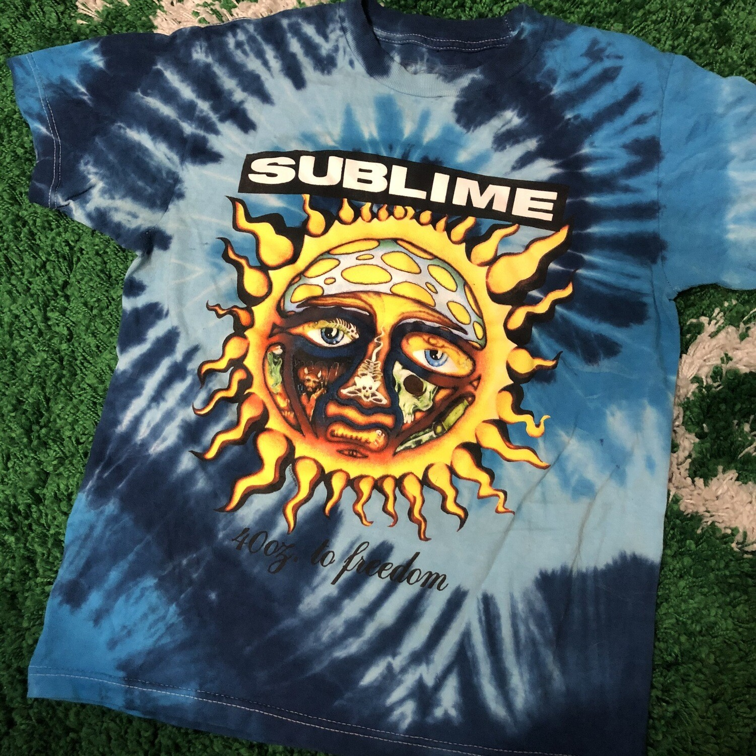 Sublime Tie dye Shirt Size Small