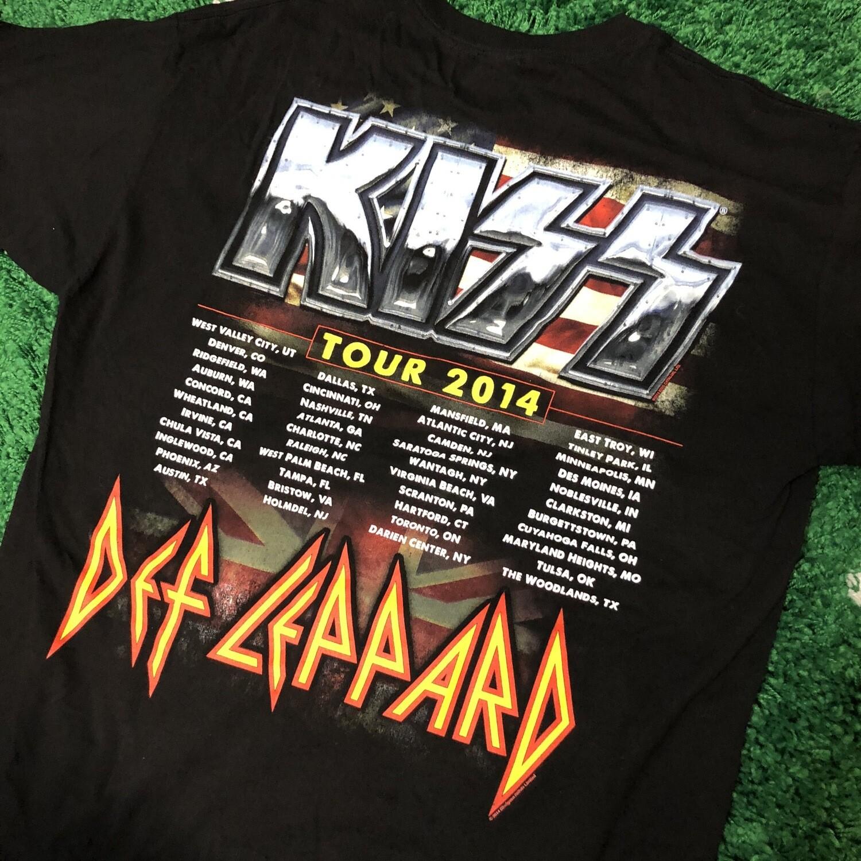 Kiss 40 year Anniversary Shirt Size XL