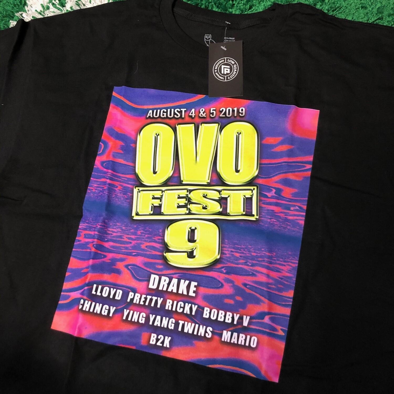 OVO Fest 2019 Tee Size XXL