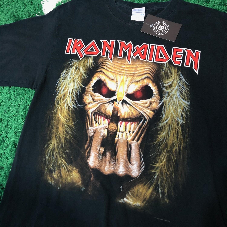 Iron Maiden Zombie Shirt Size Medium