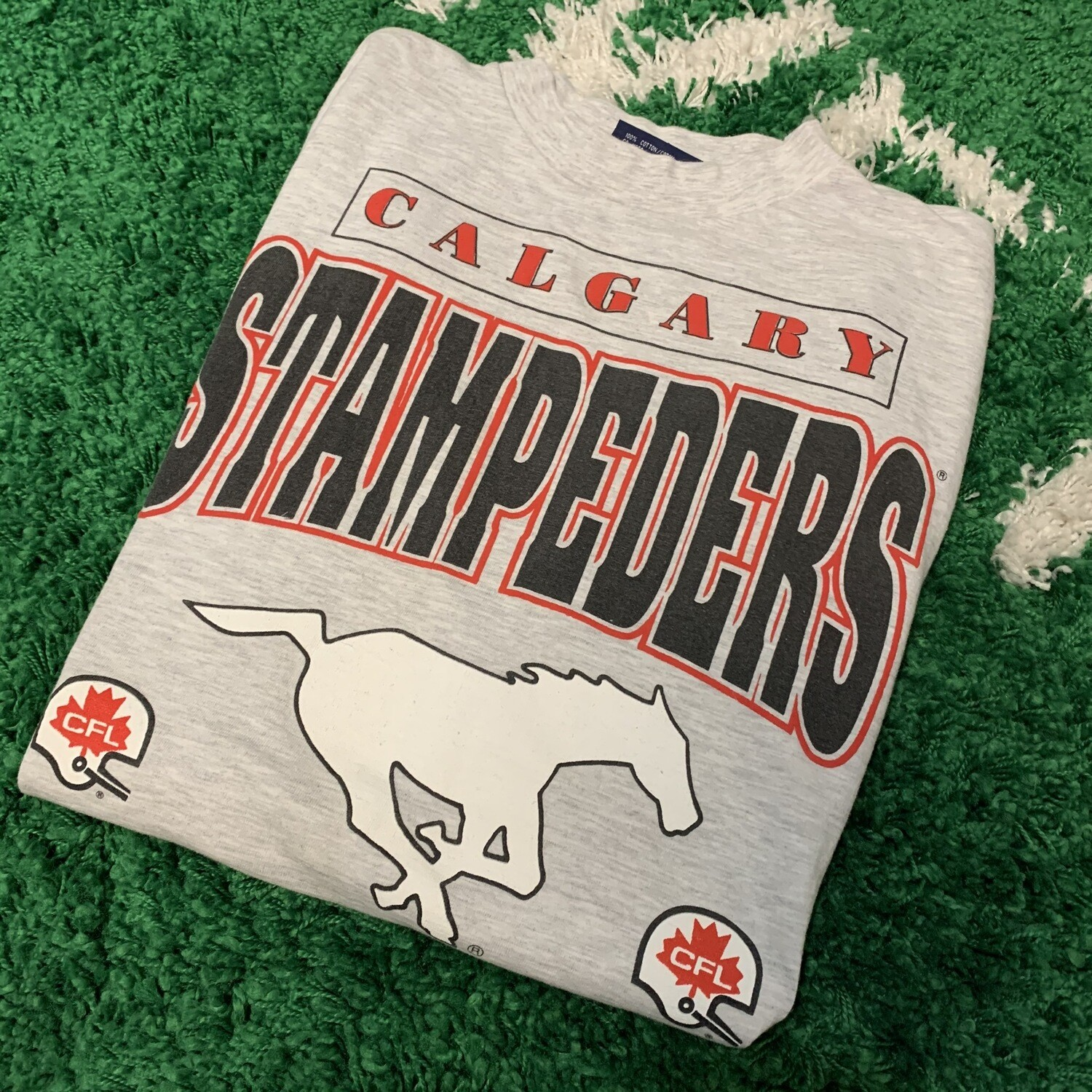 Calgary Stampeders CFL Size Large