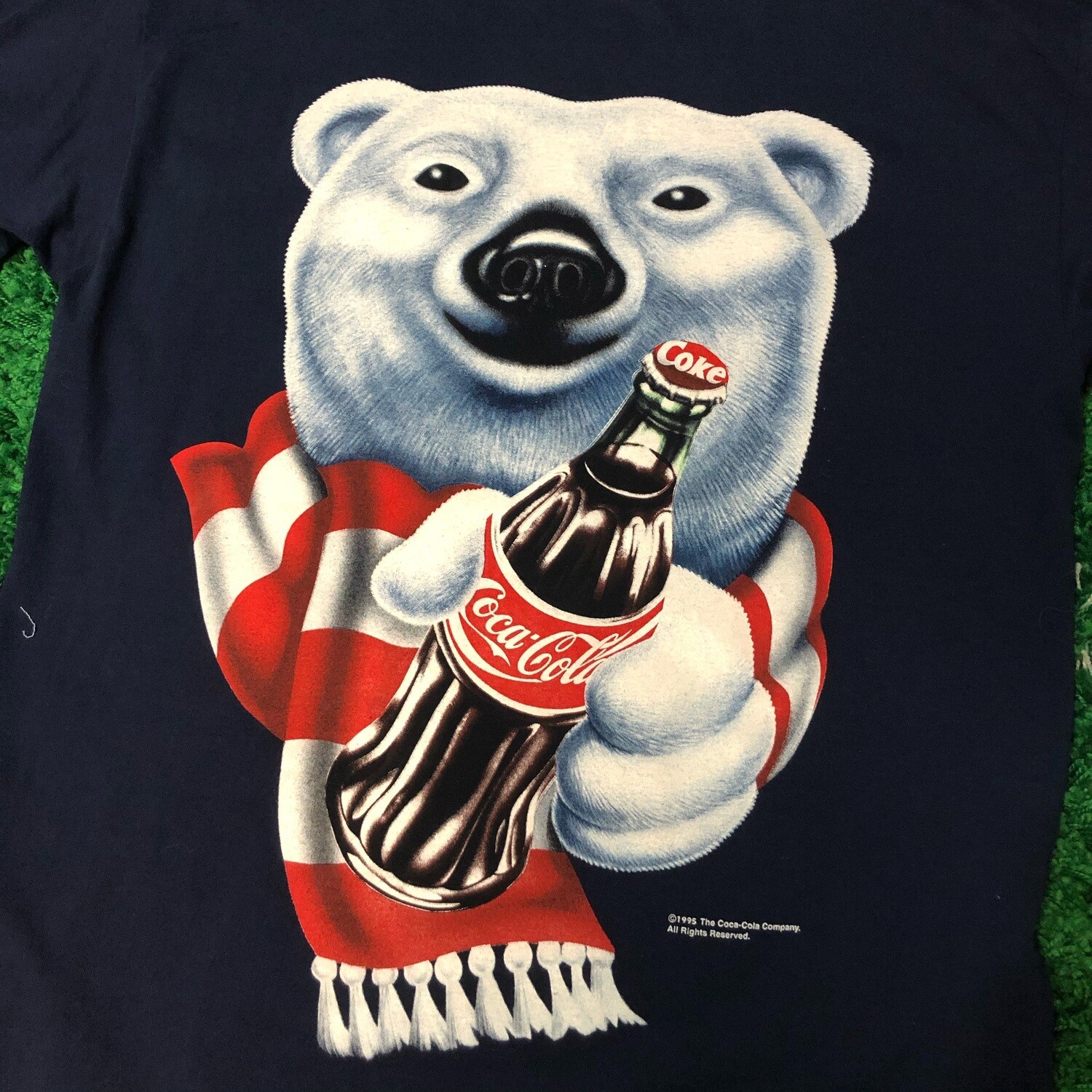 Coca-Cola 1995 Bear Shirt Size XL