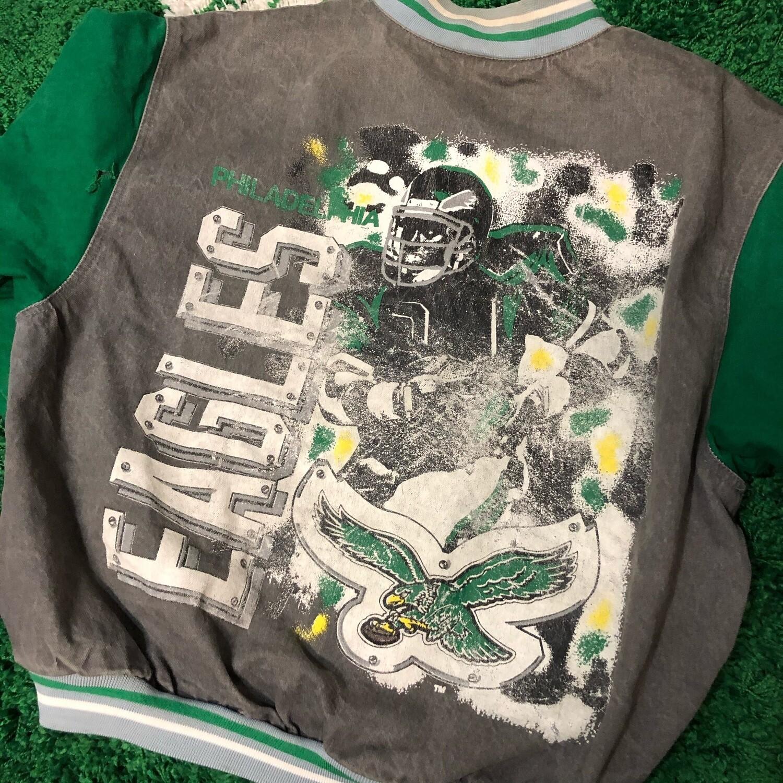 Philadelphia Eagles Varcity Jacket Size Large