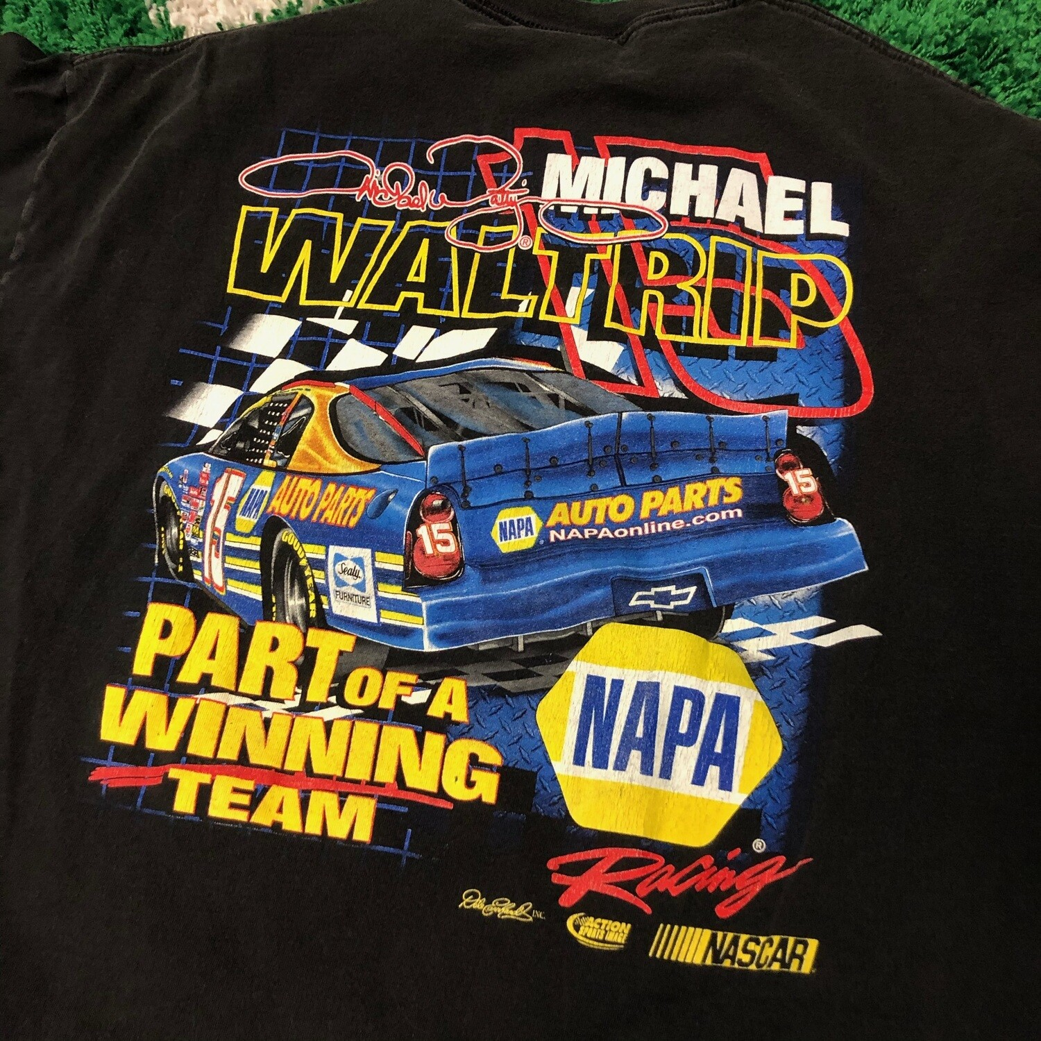 Michael Waltrip Racing Tee Size XL